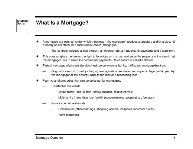 Assignment Mortgage