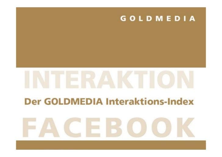 Goldmedia Interaktions-Index Juli 2012