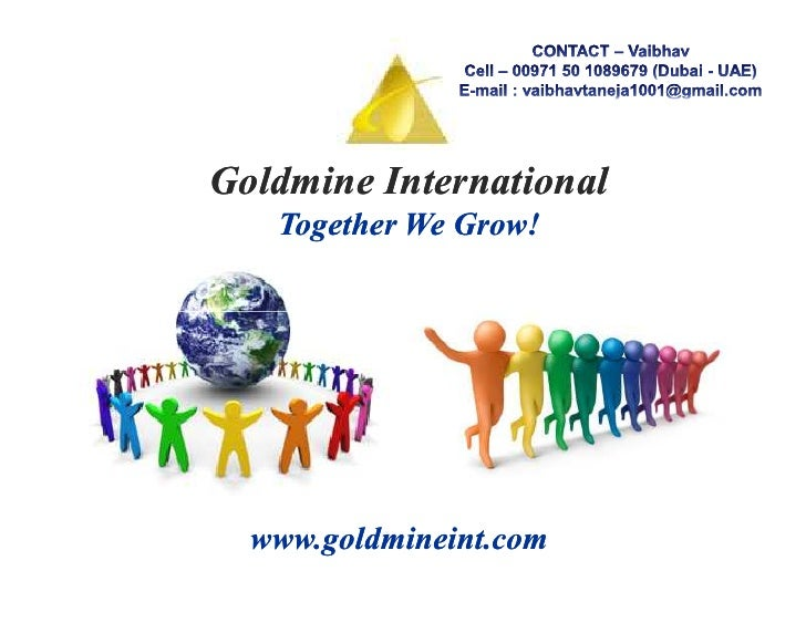 Goldmine International Presentation