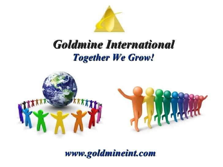 Gold Mine Intl Presentation[1]