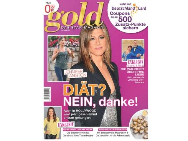gold im November – das STAR-MAGAZIN