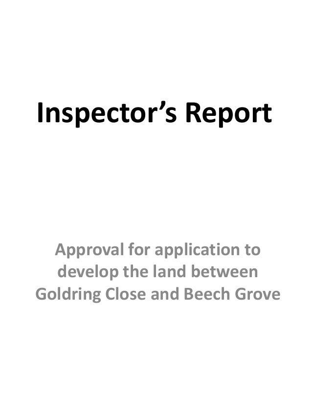Goldring Close to Beech Grove Development