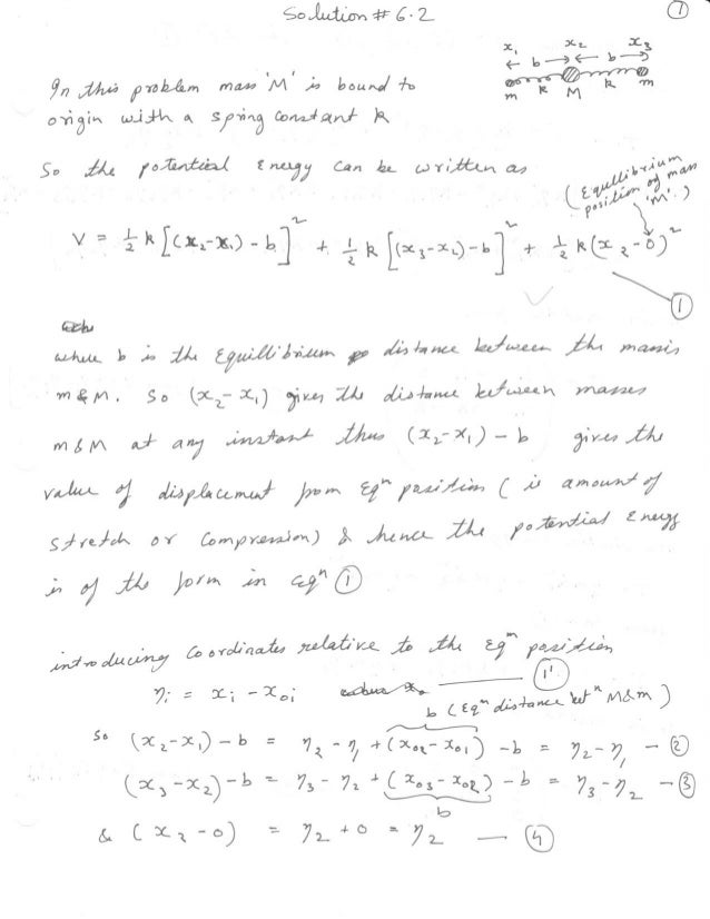 Goldstein Solution chapter 6