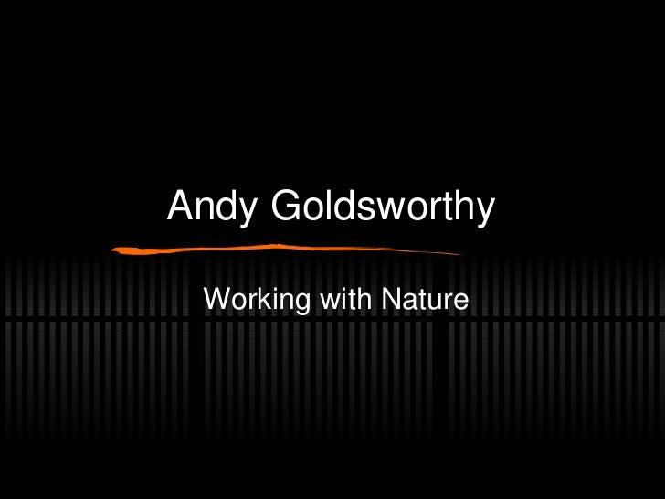 Goldsworthy