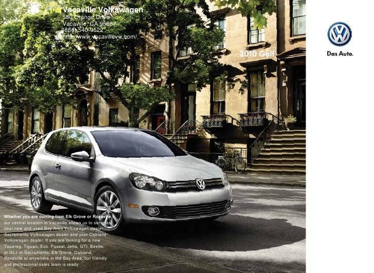 2010 Volkswagen Golf Sacramento