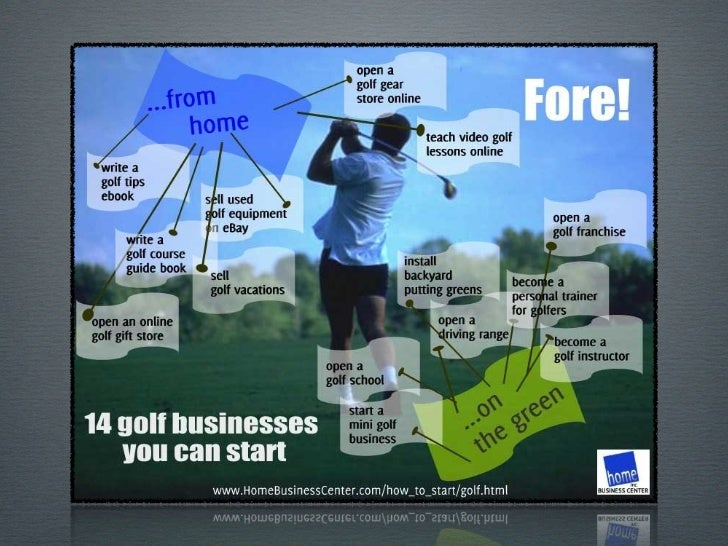 Starting aGolf BusinessLove golf? Why not start a golf business so youcan do something you love and make money atthe same ...