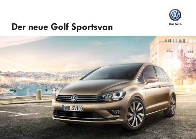 Der neue Golf Sportsvan