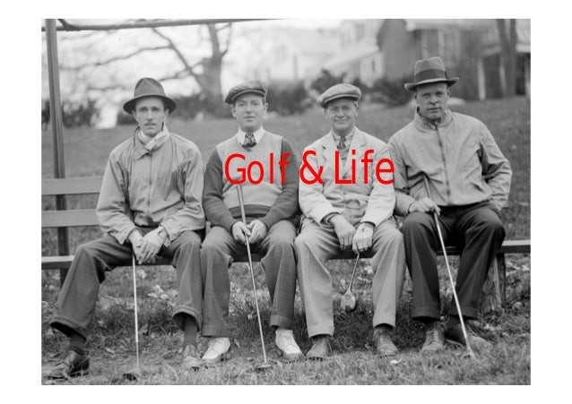 Golf & life: golf is a metaphor for life