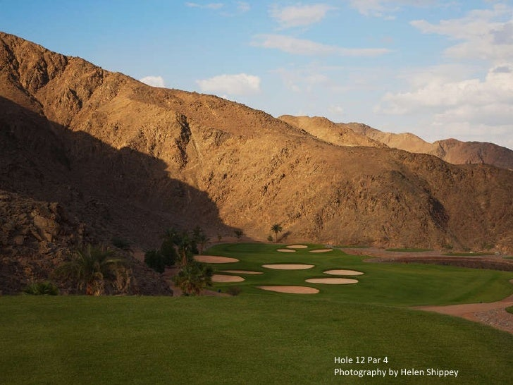 Hole 12 Par 4 Photography by Helen Shippey