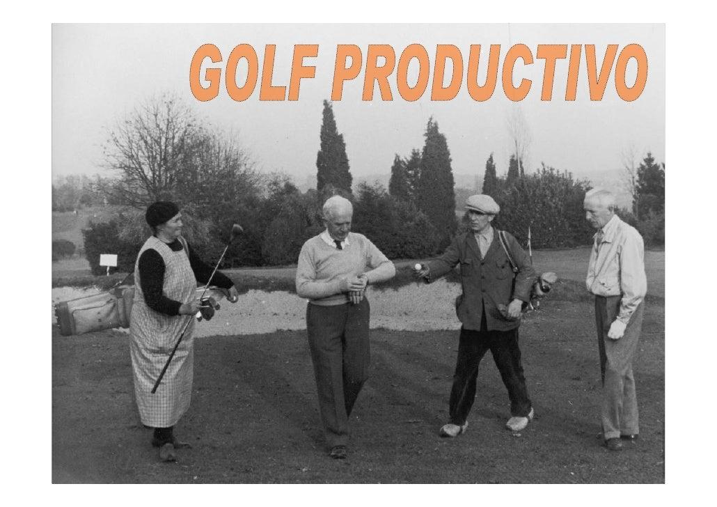 Golf Productivo