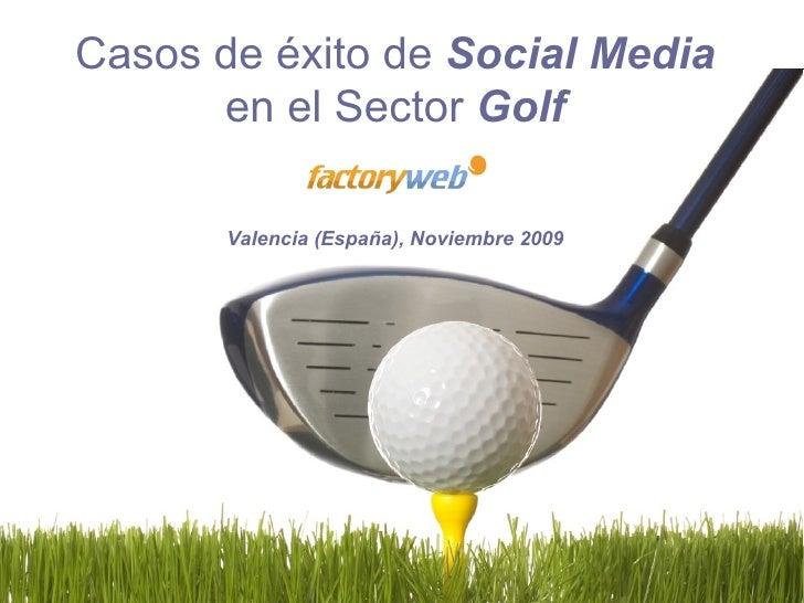Golf Redes Sociales