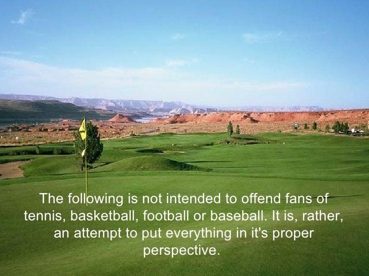 Golf Truisms