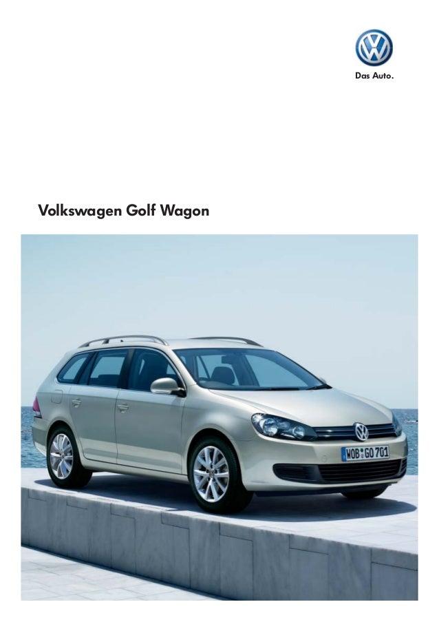 Golf Wagon Brochure Volkswagen Australia