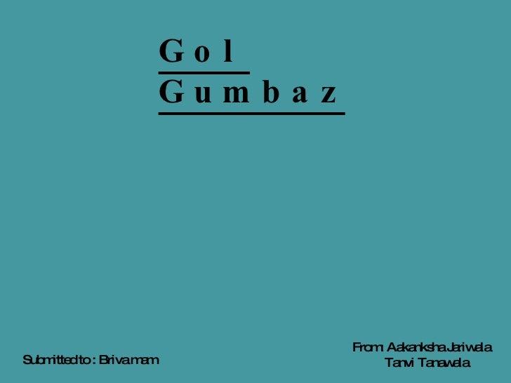Gol Gumbaz