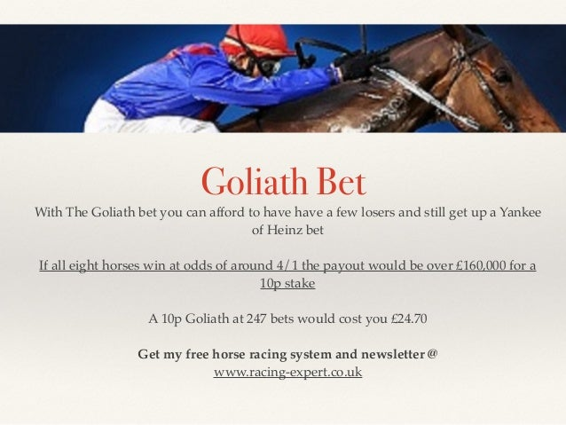 goliath bet win