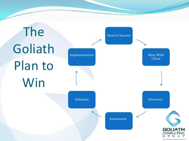 The Goliath Plan to Win<br />