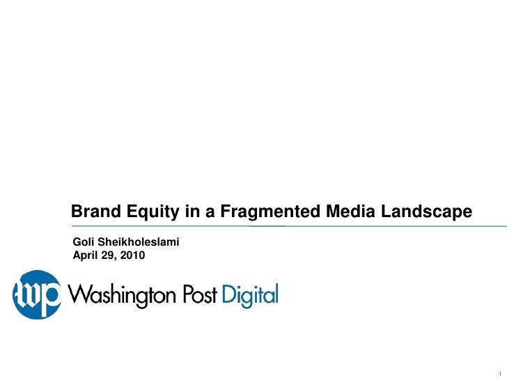 Brand Equity Online