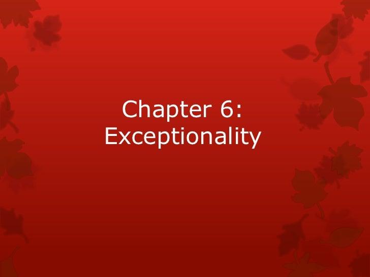Gollnick chapter 6
