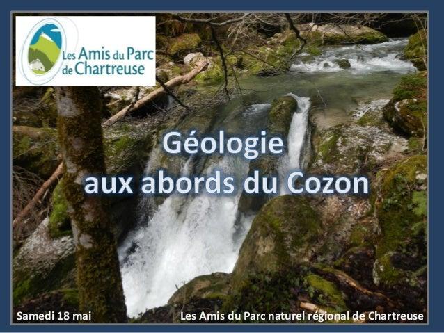 Samedi 18 mai Les Amis du Parc naturel régional de Chartreuse
