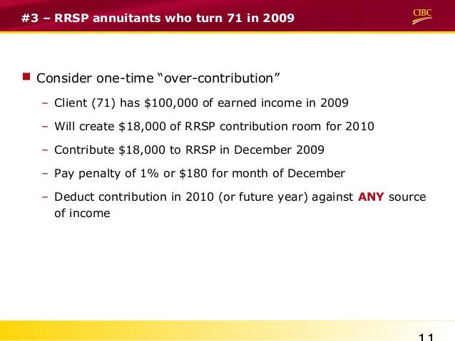 form over rrsp contribution