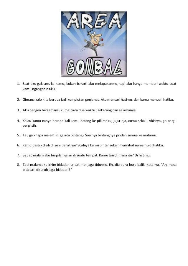 Gombal 2