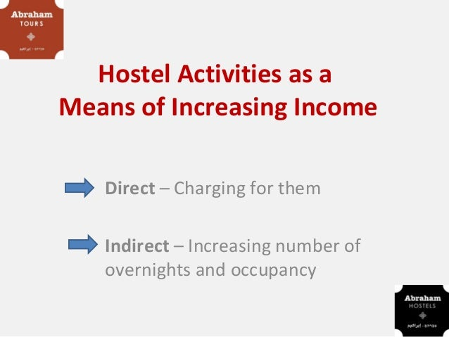 Hostel events and activities as means of increasing income for your hostel