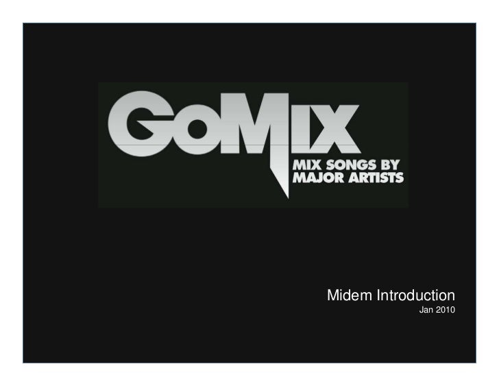 Go mix presentation