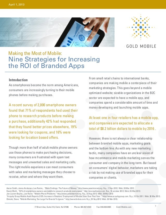 White Paper: Increase the ROI of Branded Apps