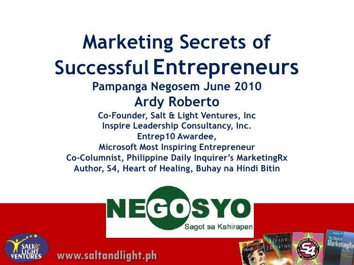 Gonegosyo pampanga-marketing-ardy-2010