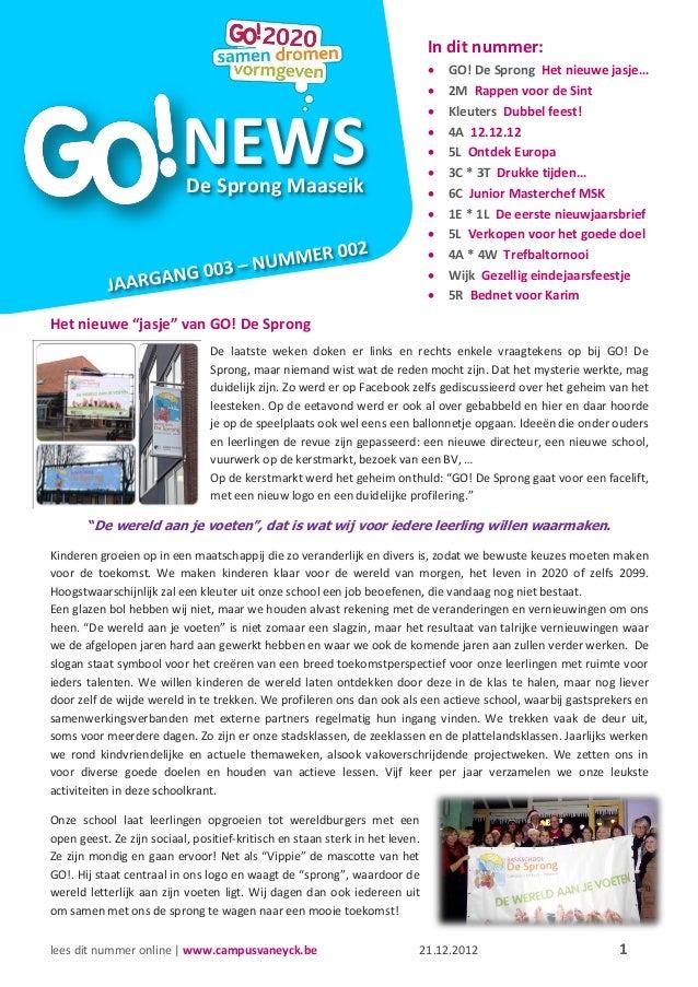 NEWS                                   De Sprong Maaseik                                                                  ...