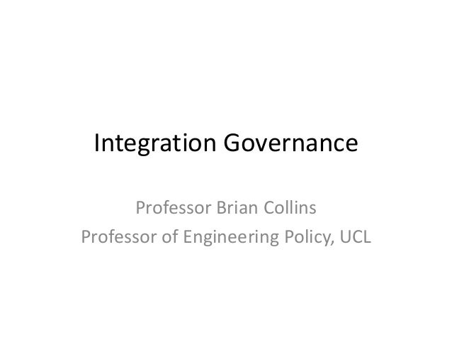 SMART Seminar: Governance of Integrated Infrastructure