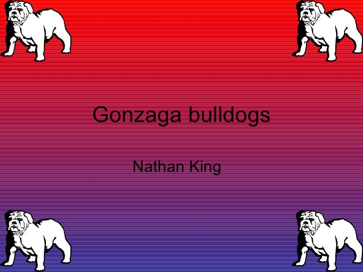 Gonzaga bulldogs Nathan King