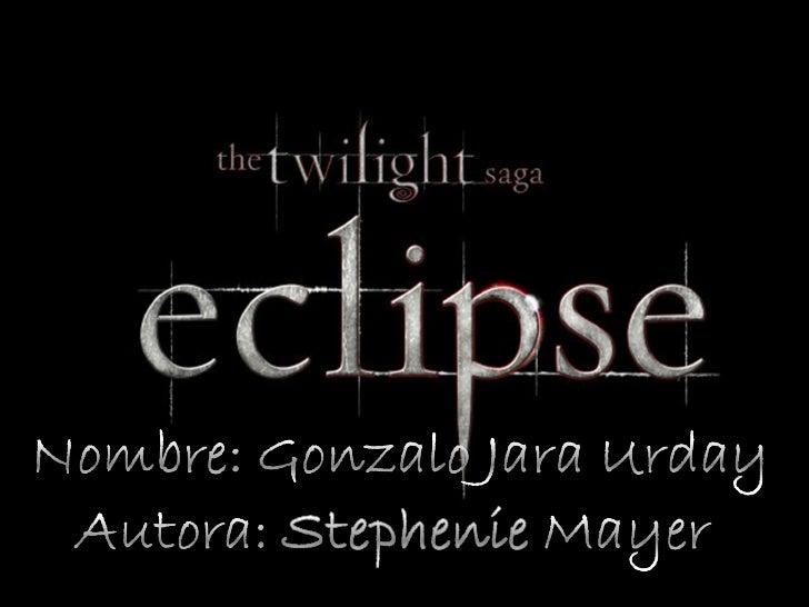 Gonzalo Eclipse
