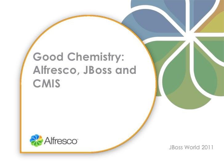 Good Chemistry: Alfresco, JBoss and CMIS<br />JBoss World 2011<br />