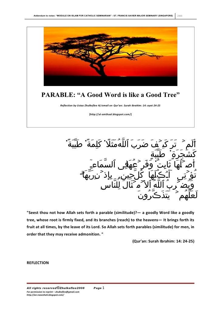 Good Word Like A Good Tree 97 2003