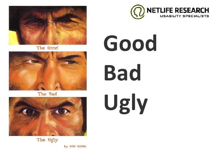 Good Bad Ugly Webdagene Jostein