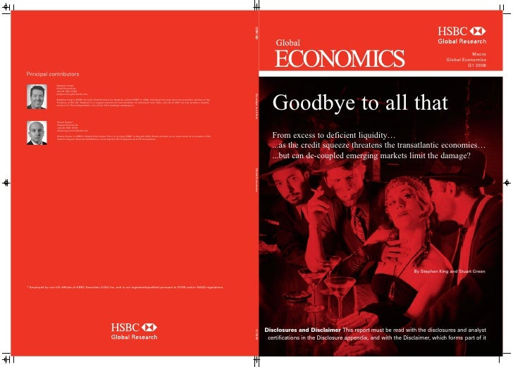 Goodbye To All That...From Excees To Deficient Liquidity