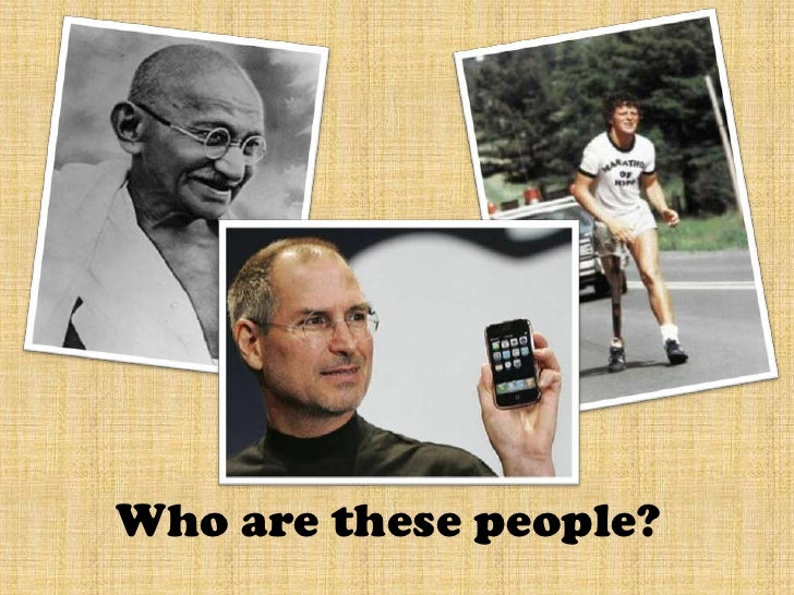 Who are these people?<br />