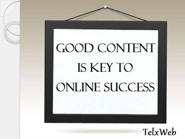 There is no substitute for good content. With new developments in the field of search engine optimization, and the explosi...
