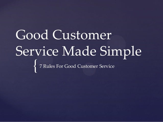 how to provide great customer service