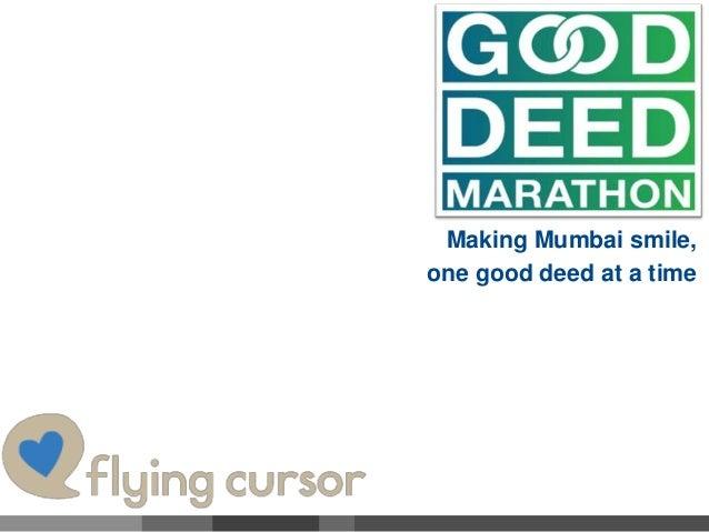 Making Mumbai smile, one good deed at a time