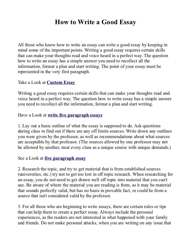 a good persuasive essay to write about Going crazy over selecting a good and interesting essay topic choose from a variety of persuasive, argumentative, high school and reflective paper topics.