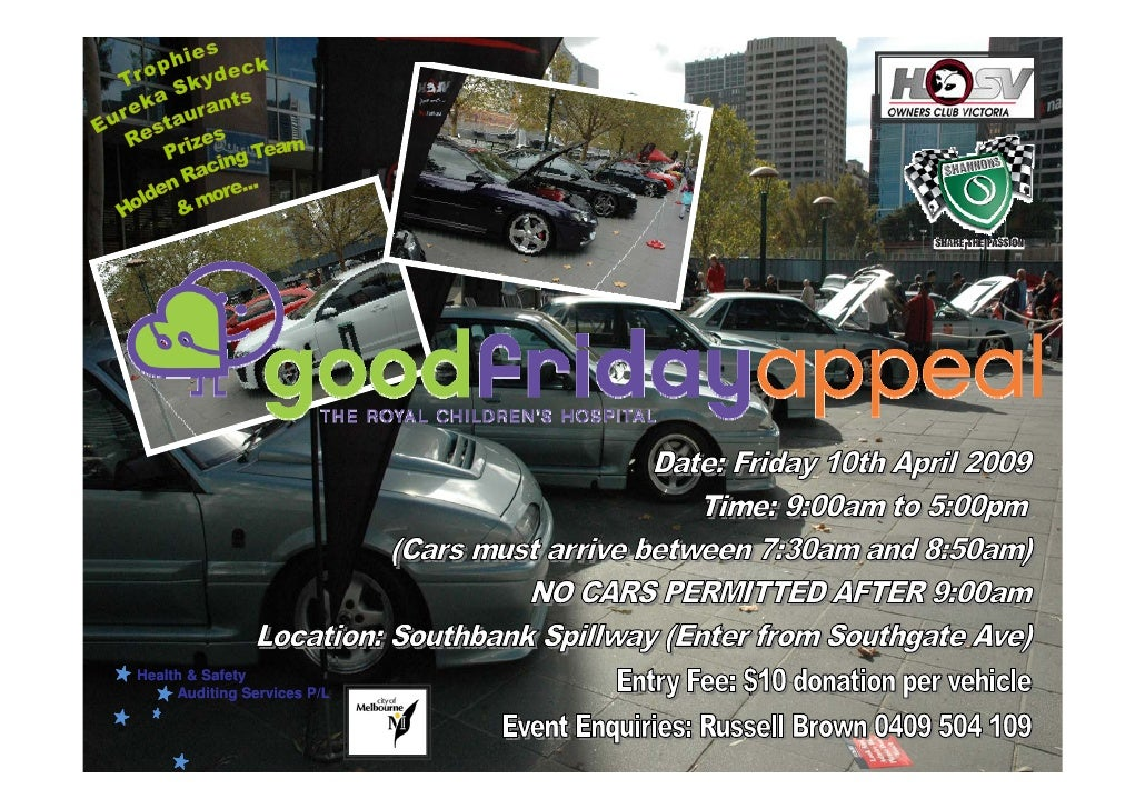 Good Friday Appeal Flyer 2009