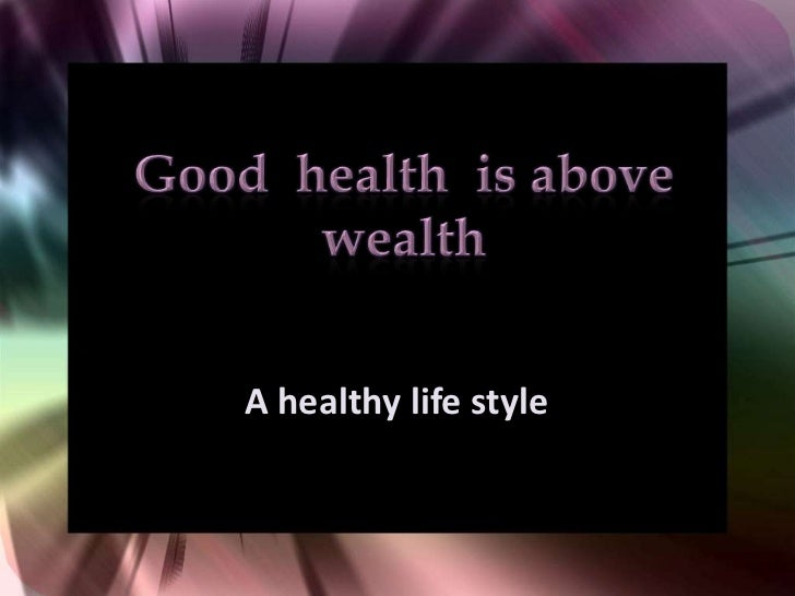 Essay On Good Health