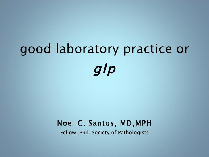 good practices in the clinical laboratory