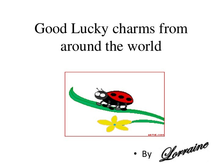 good luck charms around the world
