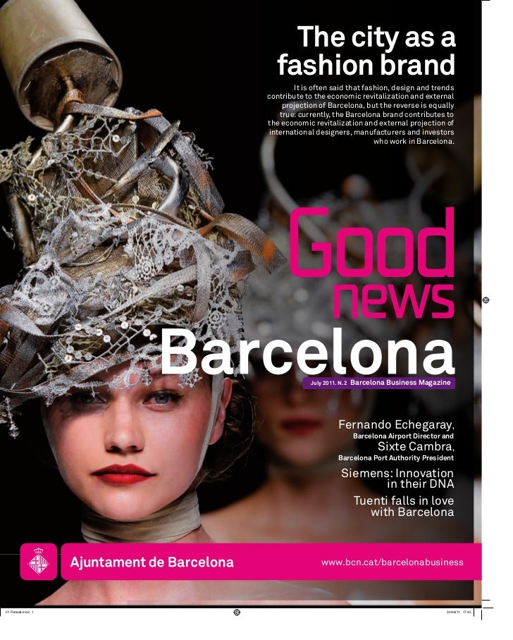 Barcelona Good News #2: the city as a fashion brand