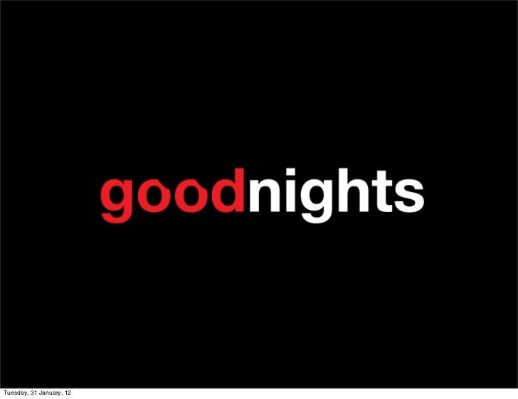 Good nights pitch university mobile challenge