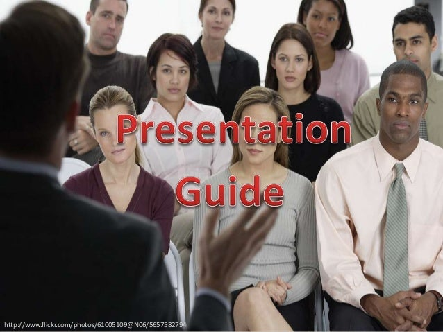 Presentation Design and Delivery Tips