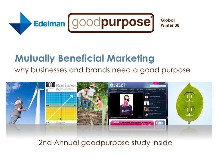 goodpurpose Study 2008